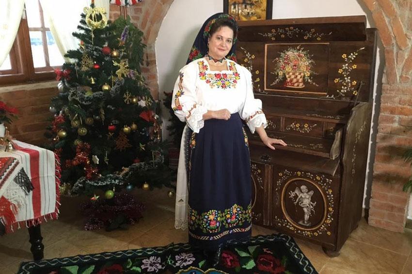 Hermina Marc Iluți,  mesageră a cântecului tradițional din Țara Chioarului
