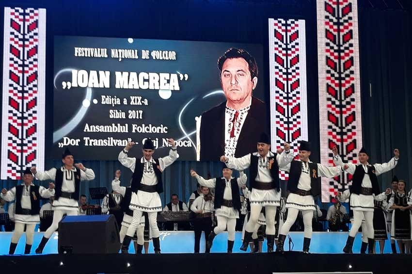 DOR TRANSILVAN, la Festivalul Național de Folclor IOAN MACREA